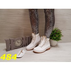 Ботинки зима Балманы белые