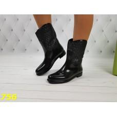 Полусапожки ботинки резиновые непромокаемые