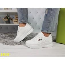 Белый кроссовки фила