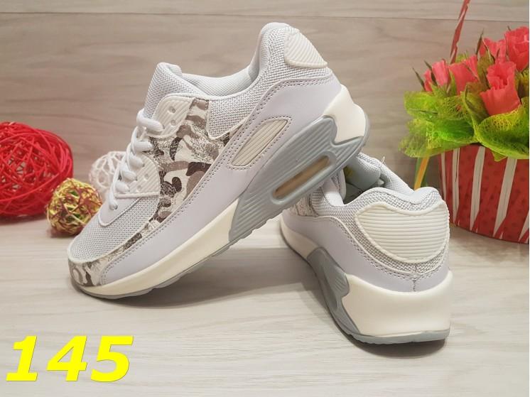Кроссовки аирмакс белые со вставками хаки