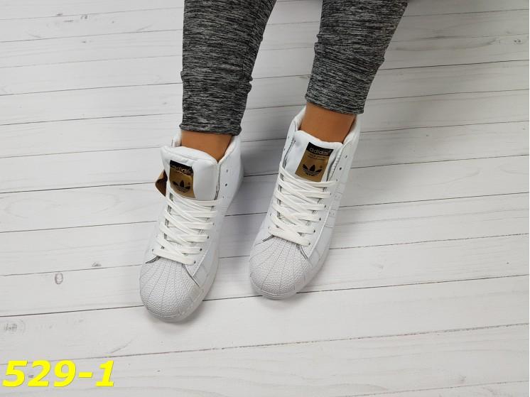 82aa96df1 Кроссовки белые суперстар с брендовыми значками