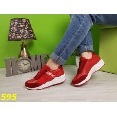Кроссовки красные Fashion