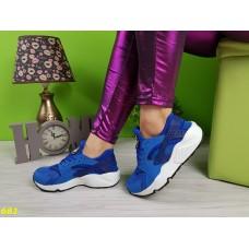 Кроссовки хуарачи ярко-синие