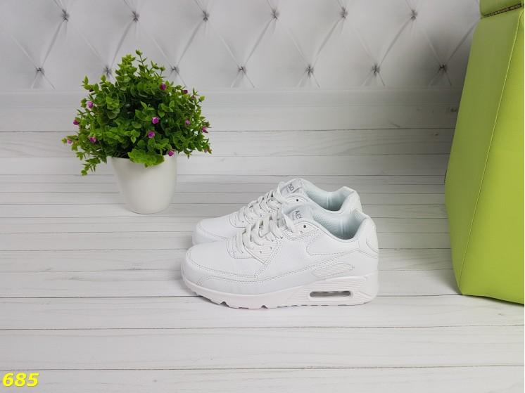 5d0135bf Купить Кроссовки белые аирмаксы - Slippers.com.ua | Купить женские ...