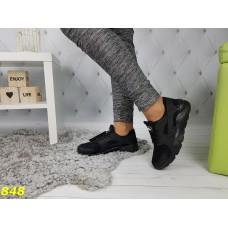 Кроссовки черные хуарачи